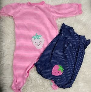 Carter's Strawberry Baby Suits